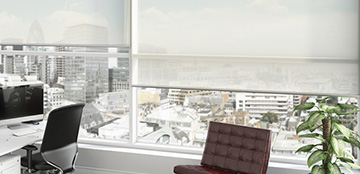 Executive office blinds from Barnes Blinds in Stoke-on-Trent