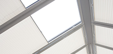 Blinds customised to your conservatory