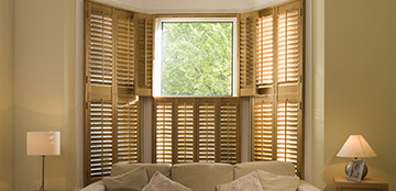 Barn style shutters from Barnes Blinds
