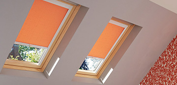 Made to measure Velux blinds from Barnes Blinds in Stoke-on-Trent
