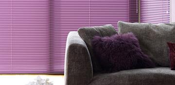 Living Room Venetian Blinds