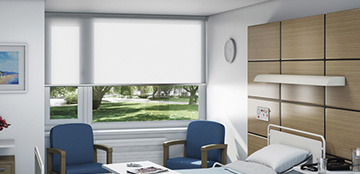 Meeting room blinds from Barnes Blinds in Stoke-on-Trent