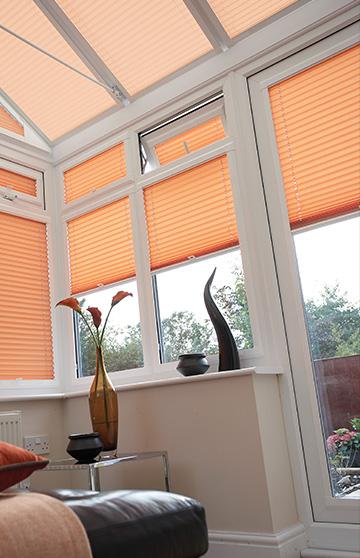 Stylish designer conservatory blinds