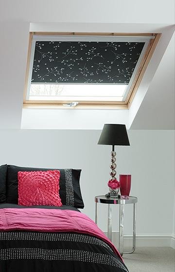 Designer Velux blinds from Barnes Blinds in Stoke-on-Trent