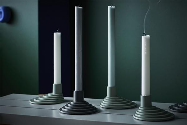 ikea x hay candle holders
