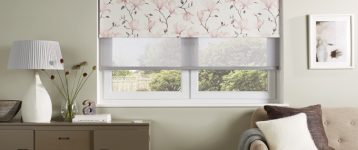 Two Roller Blinds in One Window