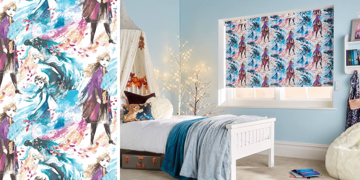 disneys frozen roller blinds
