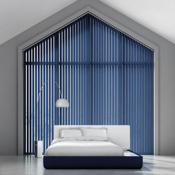 pantone classic blue vertical blind