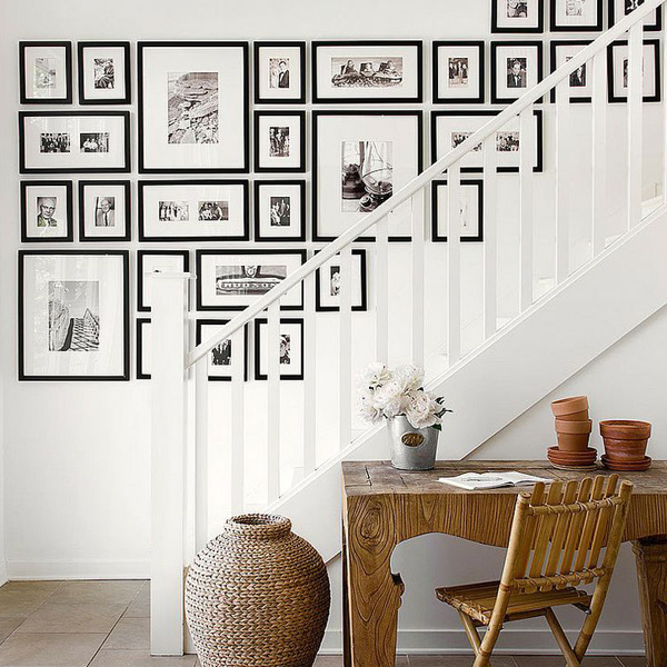 romantic gallery wall