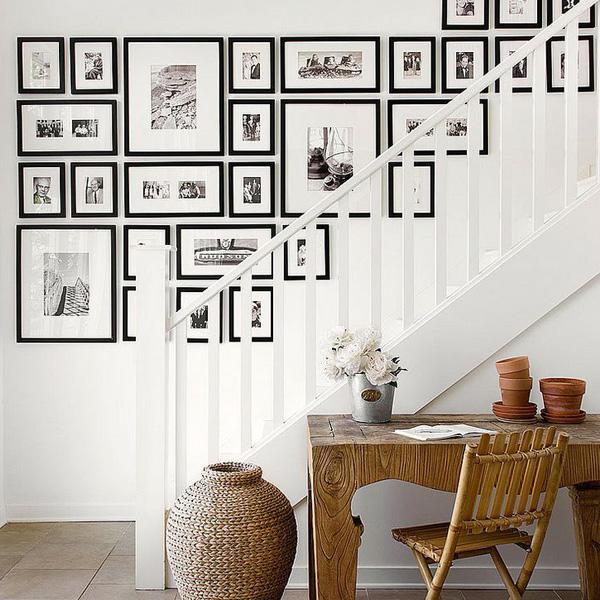 romantic gallery wall